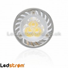 GU10 3w LED Bulb Front View