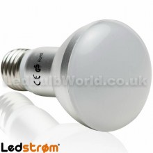 E27 R63 LED Reflector Bulb Side View